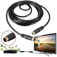 3m/10FT Feet 4 Pin S-Video Male to Male Cord Cable Gold Plated For DVD HDTV PC
