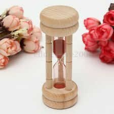 3 Minutes Traditional Sandglass Hourglass Sand Clock Timer Kitchen Cooking Gift