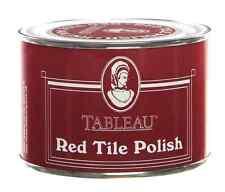Tableau rouge cardinal cire carrelage polonais 250ml restaure brique tile & mesures concrètes
