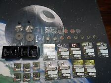 2x TIE F/O force awakens x wing miniatures  plus 9 pilot cards $$ DROPPED