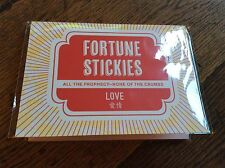 BNWT New Fortune Stickies Sticky Notes - Set of 160 Small Fortune Notes