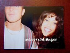 Vtg Selfie Mistake Blurry Photo Of Young Couple Girl&Partial Face Guy/Boy R83