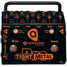 Amptweaker Tight Metal Pro Distortion Pedal with 3 Effects Loops tightmetal