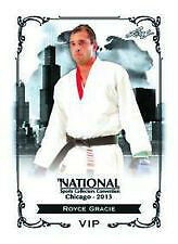2013 National Convention LEAF EXCLUSIVE VIP ROYCE GRACIE MMA UFC