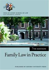 Family Law in Practice (Blackstone Bar Manual)