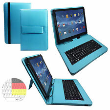10.1 zoll Qwertz Tablet Tasche Teclast X10 Plus Tablet PC - Tastatur Türkis 10