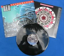 """REO Speedwagon-""""Wheels Are Turnin'"""" LP Foreigner-Journey-Music Records-Rock."""