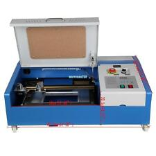 USB CO2 laser graviermaschine 40W 20KV cutting tool engraver Cutter Graviere