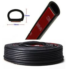 3M D-shape Car Door Window Rubber Seal Strip Weatherstrip for Truck Motor Auto ,