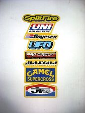 Rear Fender Decal RM 125 250 500 1981 to 1992 Graphics Stickers #6