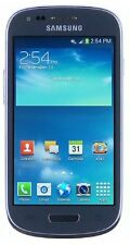 Samsung Galaxy S3 Mini 8GB At&t Unlocked GSM 4G LTE Android Phone - Blue - New