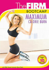 The FIRM - MAXIMUM CALORIE BURN (DVD) workout exercise bootcamp SEALED NEW
