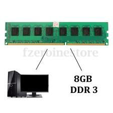 8GB DDR3 1600MHz PC3 12800 240-pin DIMM Memory Module for RAM CPU Desktop PC New