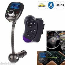 Bluetooth LCD Car Kit MP3 Player Audio FM Transmitter Modulator Radio SD TF MMC