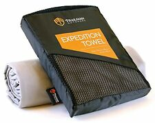 Microfibre travel towel ~ XL Extra large in compact carry bag ~ Quick drying ...