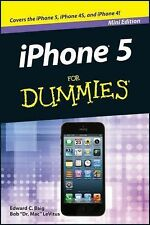 (Mini Edition) iPhone 5 FOR DUMMIES (Mini Edition), , Good Condition, Book