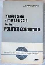 INTRODUCCIÓN Y METODOLOGÍA DE LA POLÍTICA ECONÓMICA - A. FERNÁNDEZ DIAZ - VER
