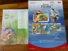 FREE Poster Herons Bitterns Malaysia 2015 empty folder autograph complete cancel