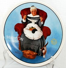 """Norman Rockwell """"Mending Time"""" Rockwell's 10th in Annual Series For Mother's Day"""