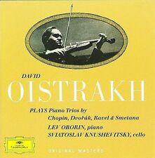 OISTRAKH / OBORIN / KNUSHEVITZKY - Piano Trios - CD ** Like New condition **