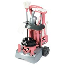 Casdon Deluxe Pink Hetty Cleaning Trolley Hoover Clean Accessories Fun Toy Girls