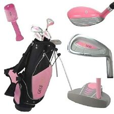 Golf Girl Junior Club Youth Set for Kids Ages 8-12 RH w/Pink Stand Bag