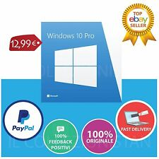 Windows 10 Professional Pro 32/64 BIT Licenza OEM - Product Key Full Language