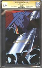 Batman Dark Knight Strikes Again DK2 CGC 9.6 SS Signed Frank Miller DC Comics NM