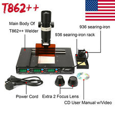 T862++ BGA Rework Station IRDA Welder Infrared Soldering Welding Machine 2017 US