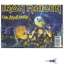 "IRON MAIDEN ""LIVE AFTER DEATH"" RARE DOUBLE K7 - SEALED"