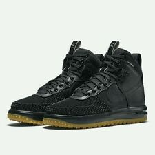 Nike Men's Lunar Force 1 LF1 DuckBoot Sz 13 NEW 805899 003 Black Winter Boot