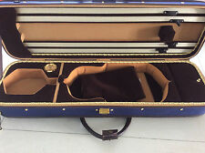 New & Nice violin case 4/4 oblong wood made