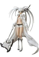 New In Box Medicom Toy RAH No.572 Black Rock Shooter White Edition 1/6 Figure