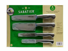Sabatier Knife Set 4 Piece For Vegetables Japanese Stainless Steel