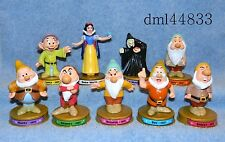 2002 McDonalds Disney 100 Years Magic * Snow White & 7 Dwarfs w/ Witch,  3+