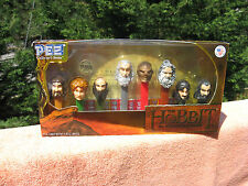 The Hobbit An Unexpected Journey Set of 8 Pez Dispensers Collector's Series~New