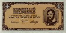 1946 Hungary Hyper Inflation 1.000.000.000.000 Pengo  Banknote