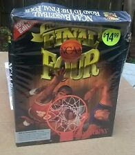 "NCAA Basketball Road To The Final Four 3.5"" IBM + NEW Sealed (Squished) Big Box"