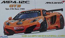 FUJIMI 125701 McLaren GT3 MP4.12C Spa 24h Race #60 in 1:24