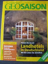 GEO Saison - Landhotels in Deutschland -  Februar 2003