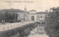 3092) S. GIOVANNI IN PERSICETO PORTA GARIBALDI STAZIONE GOVERNATIVA DI MONTA VG