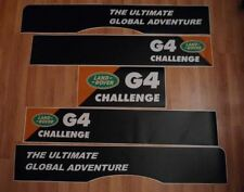 LAND ROVER FREELANDER 2 DOOR Aftermarket DECAL G4 CHALLENGE Stripes Sticker SET