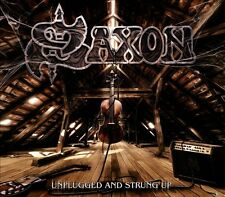 Unplugged & Strung Up [Limited Edition] [Digipak] by Saxon (CD, Nov-2013, 2...