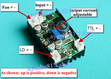 12V 5A Power Supply Driver for 445nm 450nm 3.5W NDB7A75 Blue Laser LD w/ TTL dcm
