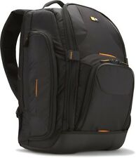 Case Logic SLRC-206 Large Nylon SLR Laptop Backpack Black BRAND NEW FREE POST UK