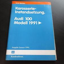 Werkstatthandbuch Audi 100 C4 ab 1991 Karosserie Instandsetzung Reparatur