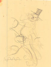 Julian Ritter Sketch of Clown  for Future Work  Pencil on Paper 8.5 X 1- 123