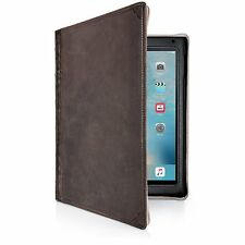 NUOVO Twelve South BookBook per iPad Air 2 Custodia in Vera Pelle-Marrone Vintage