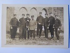 03D27 CARTE POSTALE PHOTO PORTRAIT DE GROUPE POILU ARTILLERIE 30 e RA 14/18 WWI
