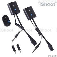 iShoot Wireless Flash Trigger for 3.5mm/6.35mm SYNC JACK Studio Flash